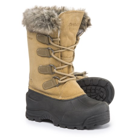 Northside Snow Drop II Pac Boots - Waterproof, Insulated (For Little and Big Girls) in Birch