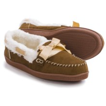 Northside Stella Moccasin Slippers - Faux Suede (For Women) in Tan - Closeouts