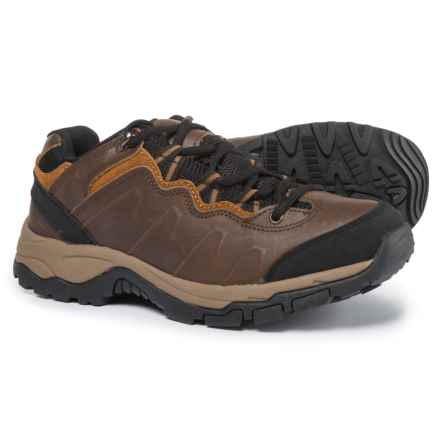Northside Talus Leather Hiking Shoes - Waterproof (For Men) in Dark Brown - Closeouts