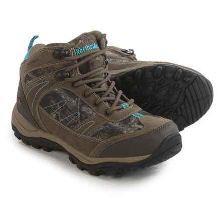 Northside Terrace Mid Hiking Boots - Waterproof (For Women) in Tan Camo - Closeouts