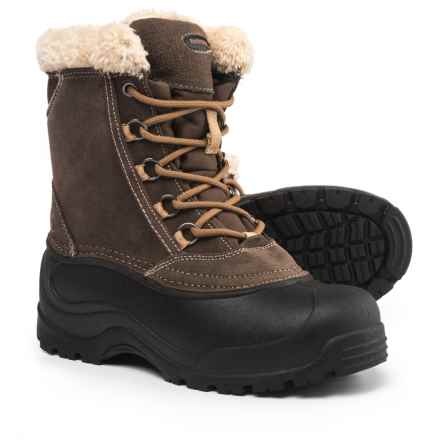Northside Winthrop II Snow Boots - Waterproof, Insulated (For Women) in Bark - Closeouts