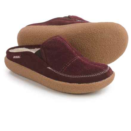 Northside Yucatan Mule Slippers (For Women) in Burgundy - Closeouts