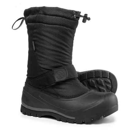 Northside Zephyr Pac Boots - Waterproof, Insulated (For Men) in Onyx - Closeouts