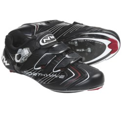 Northwave Evolution S.B.S. Road Cycling Shoes - 3-Hole (For Men) in Black