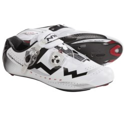 Northwave Extreme Tech S.B.S. Road Shoes - 3-Hole (For Men) in White/Black
