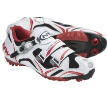Northwave Razer S.B.S. Mountain Bike Shoes (For Men) in White/Red/Black - Closeouts