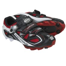 Northwave Rebel S.B.S. Mountain Bike Shoes (For Men) in Black/Red/White - Closeouts