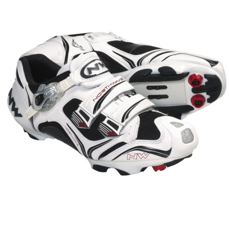 Northwave Striker S.B.S. Mountain Bike Shoes - SPD (For Men) in White/Black