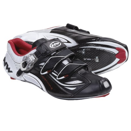 Northwave Typhoon EVO S.B.S. Road Cycling Shoes - 3-Hole (For Men) in Black/Yellow