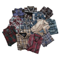 Northwest Blue Brawny Shirt - 3-Pack, Long Sleeve (For Men) in Asst