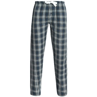 Northwest Blue Flannel Lounge Pants (For Men) in Blue