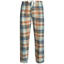 Northwest Blue Flannel Lounge Pants (For Men) in Green - 2nds
