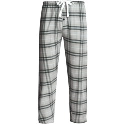 Northwest Blue Flannel Lounge Pants (For Men) in Green