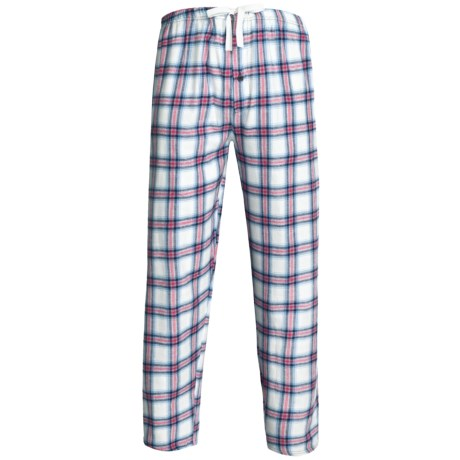 Northwest Blue Flannel Lounge Pants (For Men) in Pink