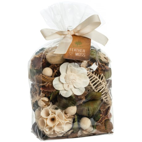Northwest Fragrance Ultimate Flat Feather Moss Potpourri in See Photo