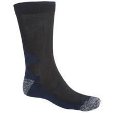 Norwear Haraldur Lightweight Hiking Socks - CoolMax®-Cotton (For Men and Women) in Navy - Closeouts