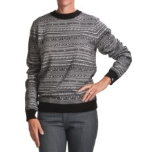 Norwear Herdis Sweater - Merino Wool (For Women) in Black - Closeouts