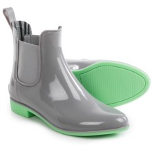 NoSoX Myst Rain Boots (For Women) in Grey/Mint - Closeouts