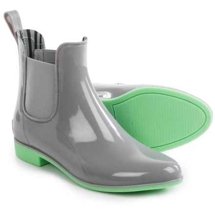 NoSoX Myst Rain Boots (For Women) in Grey/Mint - Closeouts