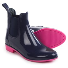 NoSoX Myst Rain Boots (For Women) in Navy/Pink - Closeouts