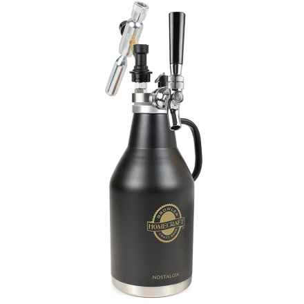 Nostalgia Homecraft Beer Growler - 64 oz. in See Photo - Closeouts