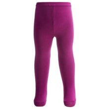 Nouvella Solid-Color Tights (For Little Girls) in Fushia - Closeouts