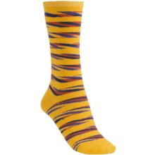 Nouvella Space Dye Stripe Socks (For Women) in Yellow/Carnival - Closeouts