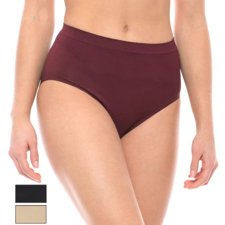 Nouvelle Premium Seamless Panties - Brief, 3-Pack (For Women)