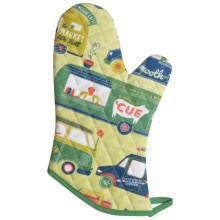 Now Designs Basic Oven Mitt in Food Trucks - Closeouts