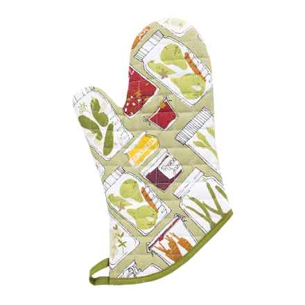 Now Designs Basic Oven Mitt in Keep On Canning - Closeouts