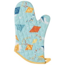 Now Designs Basic Oven Mitt in Kites - Closeouts