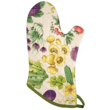 Now Designs Basic Oven Mitt in Veggies - Closeouts