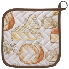 Now Designs Basic Pot Holder in Artisan Cheese - Closeouts