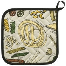 Now Designs Basic Pot Holder in Know Your Pasta - Closeouts