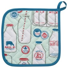 Now Designs Basic Pot Holder in Milk Bottles - Closeouts