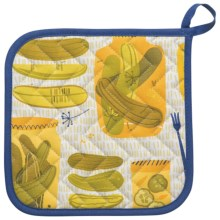 Now Designs Basic Pot Holder in Pickles - Closeouts