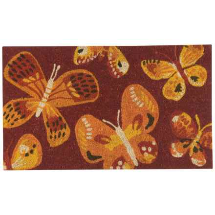 "Now Designs Coir Doormat - 18x30"" in Fly By - Closeouts"