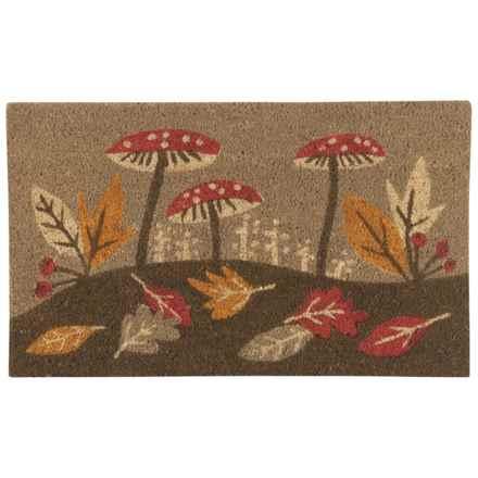 "Now Designs Coir Doormat - 18x30"" in Harvest Botanicals - Closeouts"