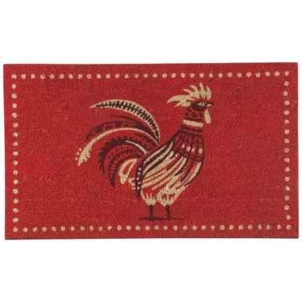 """Now Designs Coir Doormat - 18x30"""" in Roost - Closeouts"""
