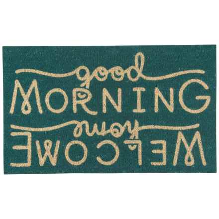 "Now Designs Coir Doormat - 18x30"" in Welcome Home - Closeouts"