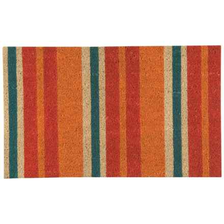 "Now Designs Coir Doormat - 18x30"" in Wide Stripe - Closeouts"