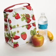 Now Designs Cool Insulated Lunch Bag in Strawberries - Closeouts