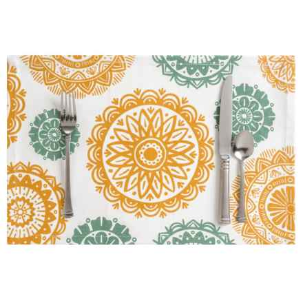Now Designs Cotton Printed Placemat in Sun Bloom - Closeouts