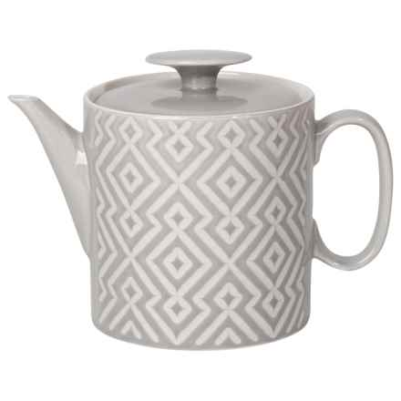 Now Designs Diamante Teapot - 28 oz. in Grey - Closeouts