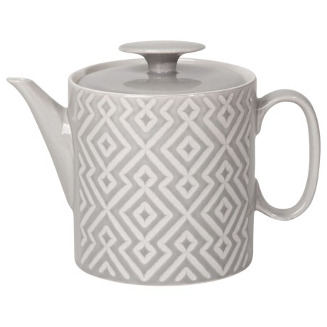 Now Designs Diamante Teapot - 28 oz. in Grey