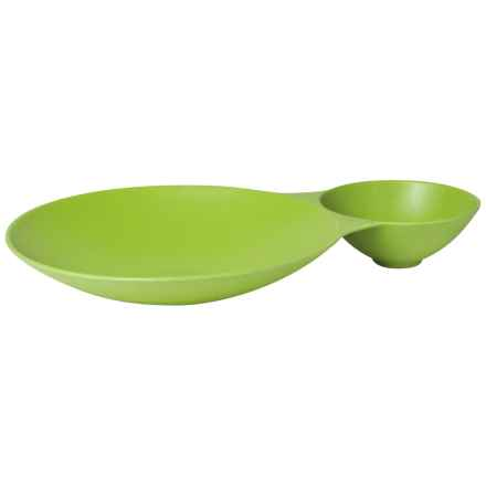 Now Designs Ecologie Chip 'n' Dip Tray in Cactus - Closeouts