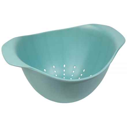 Now Designs Ecologie Colander in Turquoise - Closeouts