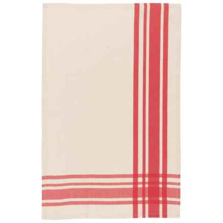 Now Designs Ecologie Kitchen Towel - Organic Cotton in Red - Closeouts