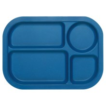 Now Designs Ecologie Lunch Tray in Cobalt - Closeouts