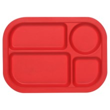 Now Designs Ecologie Lunch Tray in Red - Closeouts
